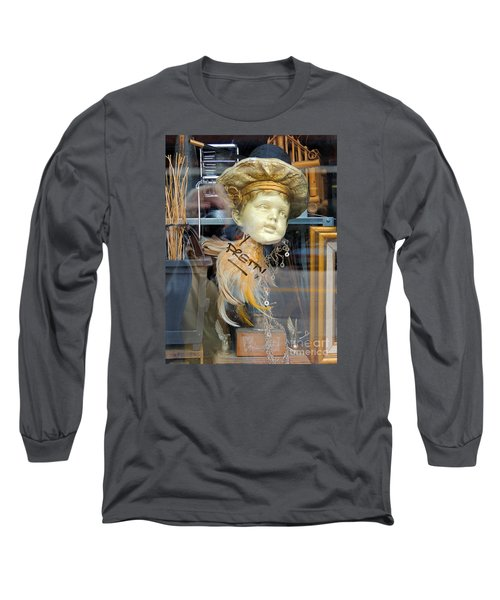 Baby Face  Long Sleeve T-Shirt by Marcia Lee Jones
