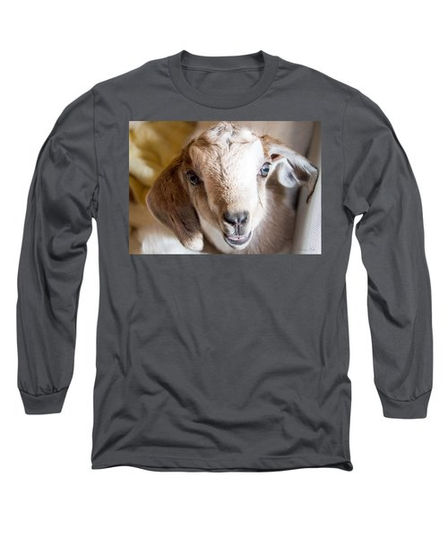 Baby Goat Face Long Sleeve T-Shirt