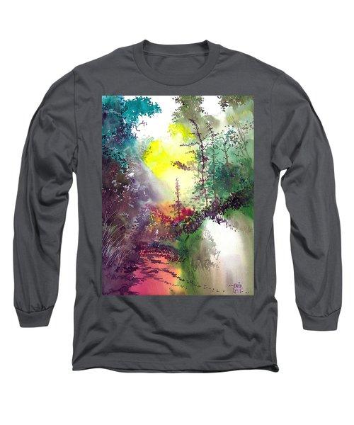 Back To Jungle Long Sleeve T-Shirt by Anil Nene