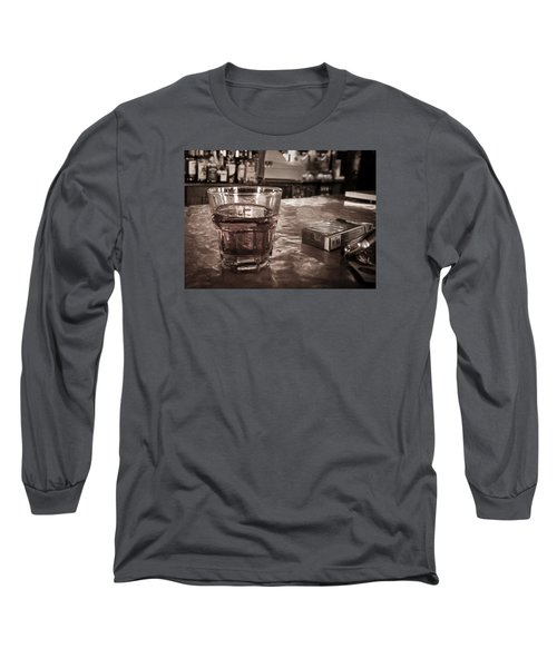 Long Sleeve T-Shirt featuring the photograph Bad Habits by Tim Stanley