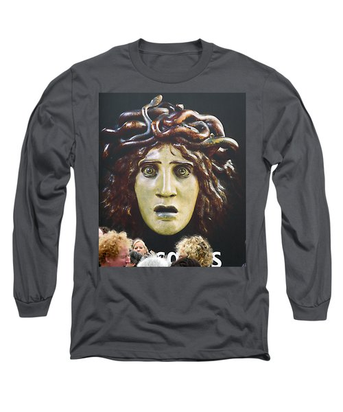 bad hair day at d'Orsay museum, Paris.  Long Sleeve T-Shirt by Joe Schofield