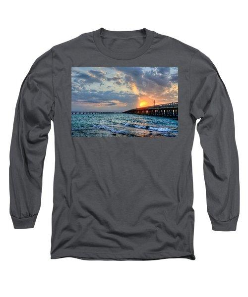 Bahia Honda Sunset Long Sleeve T-Shirt