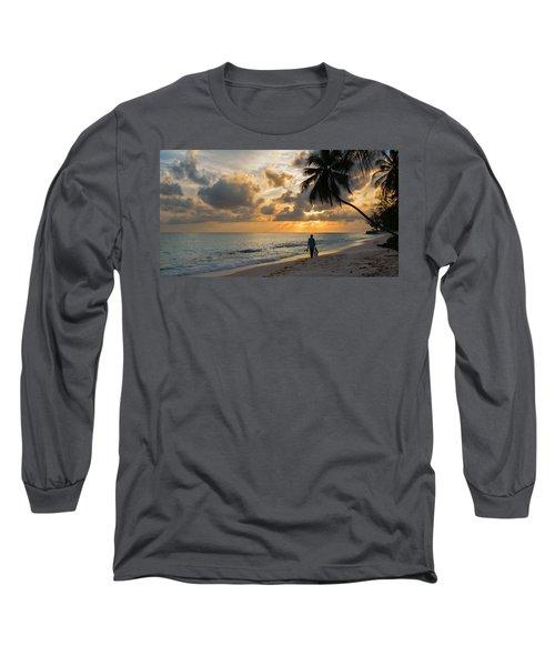 Bajan Fisherman Long Sleeve T-Shirt