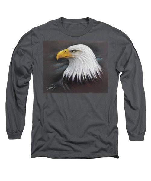 Bald Eagle Long Sleeve T-Shirt by Patricia Lintner