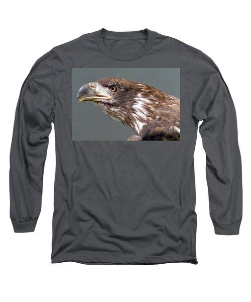 Bald Eagle Long Sleeve T-Shirt by Steve Archbold