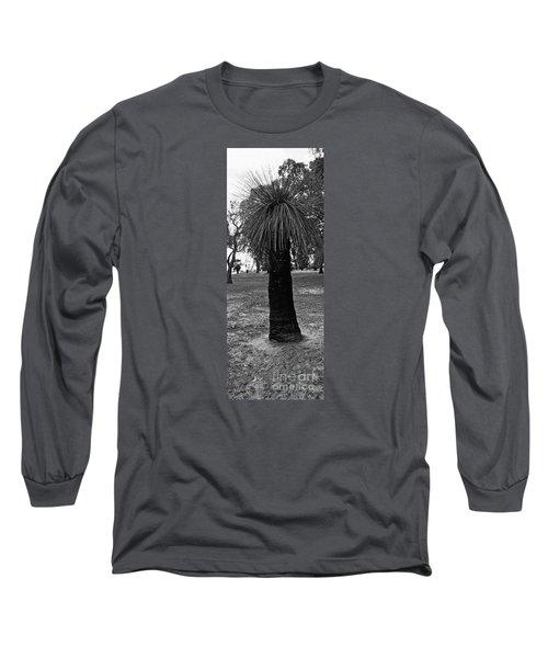 Long Sleeve T-Shirt featuring the photograph Balga Tree by Cassandra Buckley