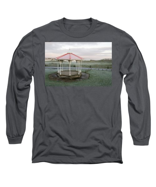 Bandstand In Winter Long Sleeve T-Shirt
