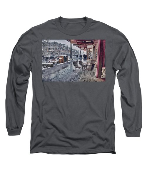 Banff Avenue Long Sleeve T-Shirt