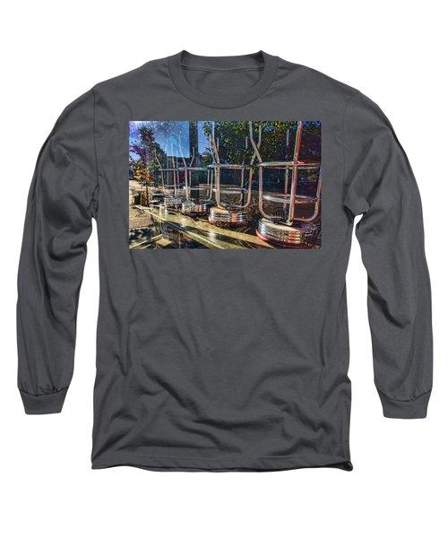 Bar Stools Up Long Sleeve T-Shirt
