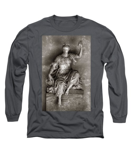 Bargello Sculpture Long Sleeve T-Shirt