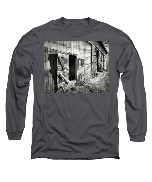 Barn Doors Long Sleeve T-Shirt