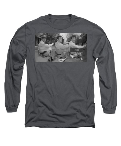 Barney Andy And Gomer Long Sleeve T-Shirt