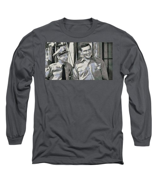 Barney Fife And Andy Taylor Long Sleeve T-Shirt