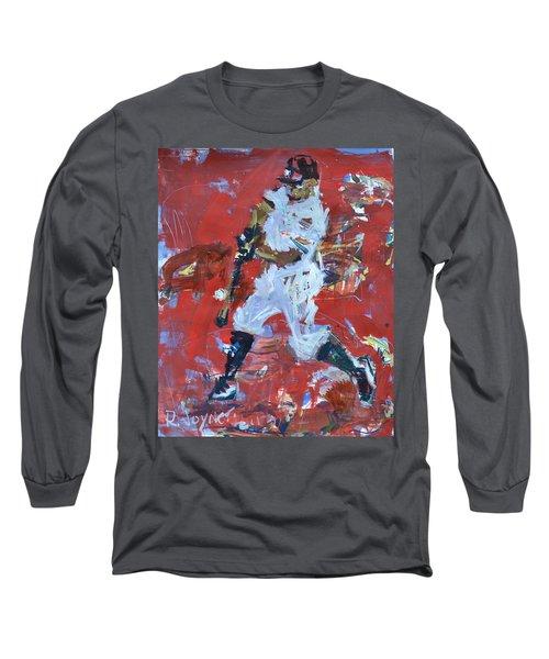 Baseball Painting Long Sleeve T-Shirt