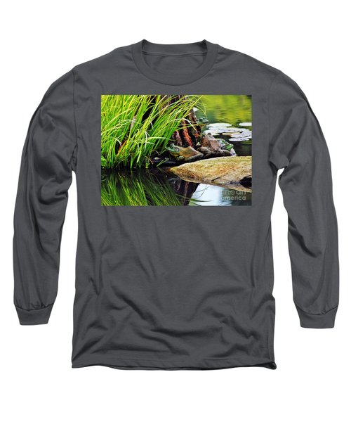 Basking Bullfrogs Long Sleeve T-Shirt