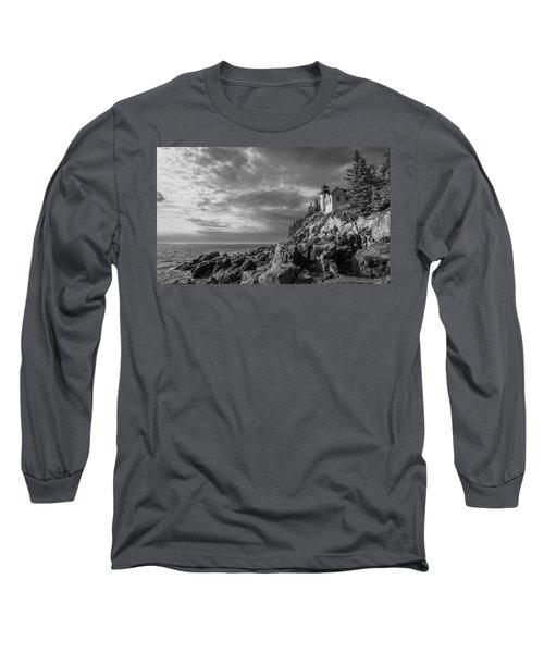 Bass Harbor Views Long Sleeve T-Shirt