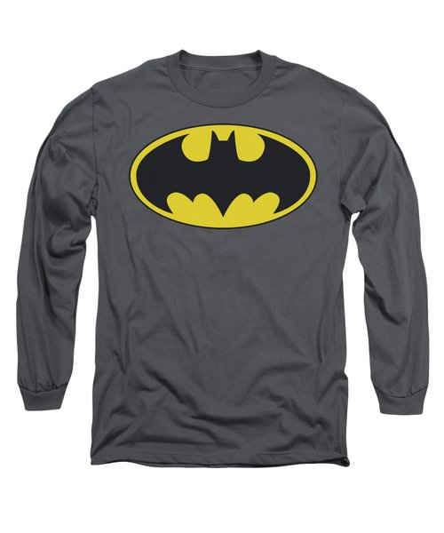 Batman - Classic Bat Logo Long Sleeve T-Shirt