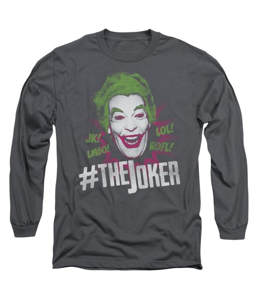 Batman Classic Tv - #joker Long Sleeve T-Shirt