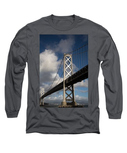 Bay Bridge After The Storm Long Sleeve T-Shirt