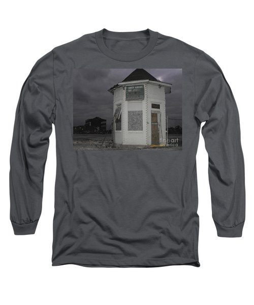 Bay City American Hoist Guard House Long Sleeve T-Shirt