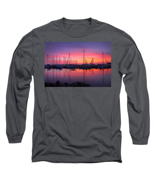 Bayfield Wisconsin Magical Morning Sunrise Long Sleeve T-Shirt