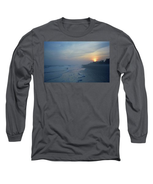 Beach And Sunset Long Sleeve T-Shirt
