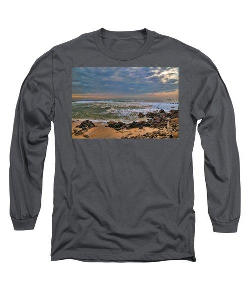 Beach Landscape Long Sleeve T-Shirt