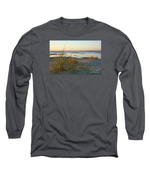 Beach Morning Long Sleeve T-Shirt by Kevin McCarthy