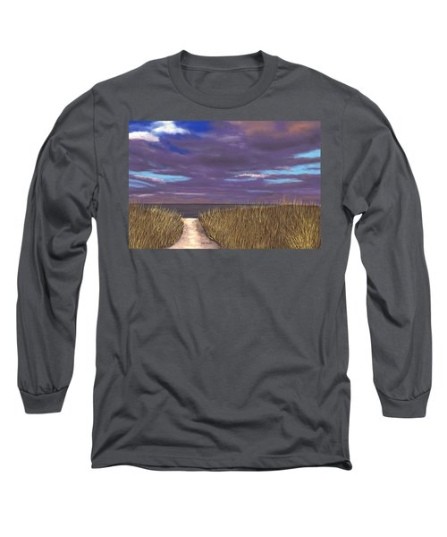 Beach Path Long Sleeve T-Shirt