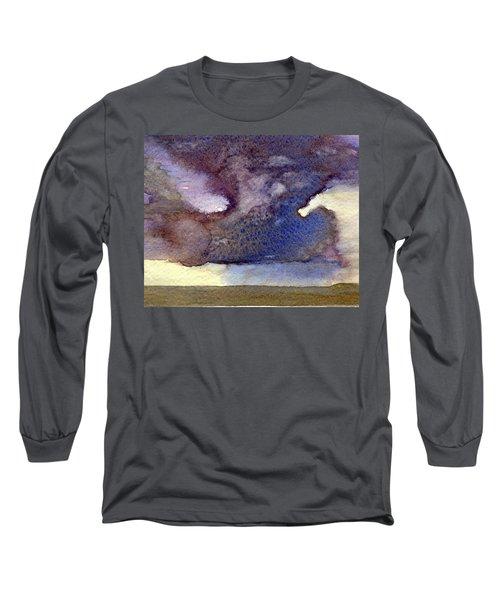 Beach Storm Cloud Long Sleeve T-Shirt