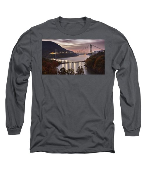 Bear Mountain In The Fall Long Sleeve T-Shirt