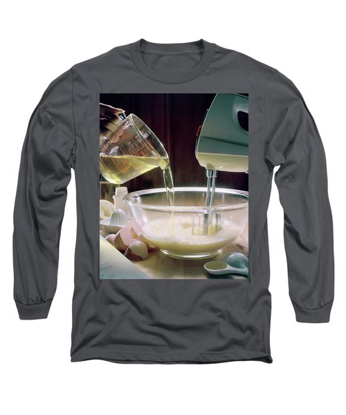 Beating Eggs Long Sleeve T-Shirt