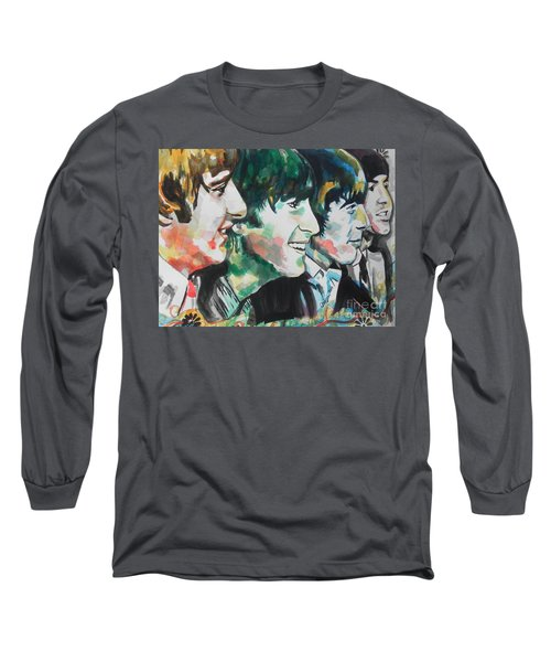 The Beatles 02 Long Sleeve T-Shirt