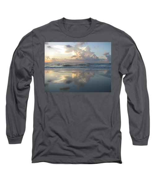 Beautiful Beach Sunrise Long Sleeve T-Shirt