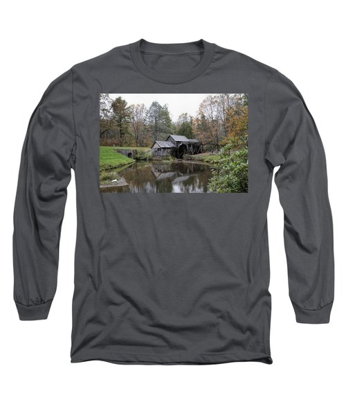 Beautiful Historical Mabry Mill Long Sleeve T-Shirt