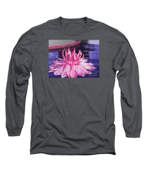 Long Sleeve T-Shirt featuring the photograph Beauty Of Pink At The Ny Botanical Gardens by Chrisann Ellis