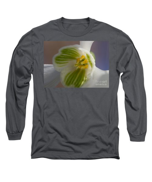 Bee's View Of A Snowdrop Long Sleeve T-Shirt