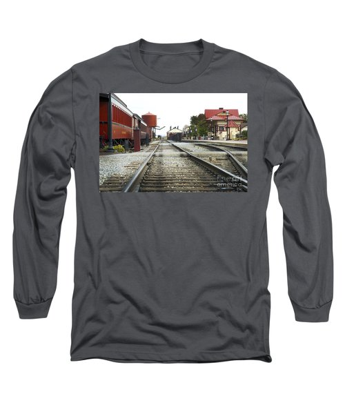 Before The First Passengers Long Sleeve T-Shirt