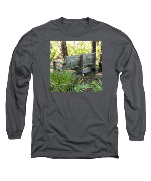 Bench In Nature Long Sleeve T-Shirt