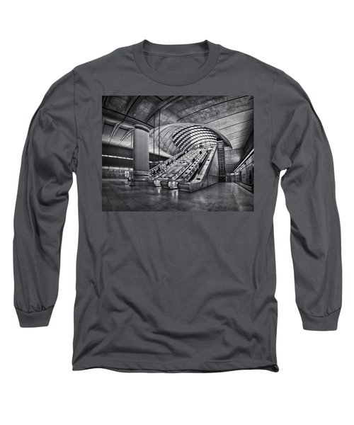 Beneath The Surface Of Reality Long Sleeve T-Shirt by Evelina Kremsdorf