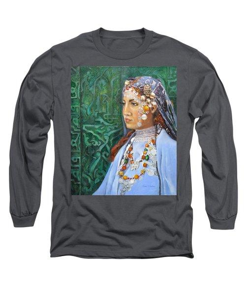 Berber Woman Long Sleeve T-Shirt