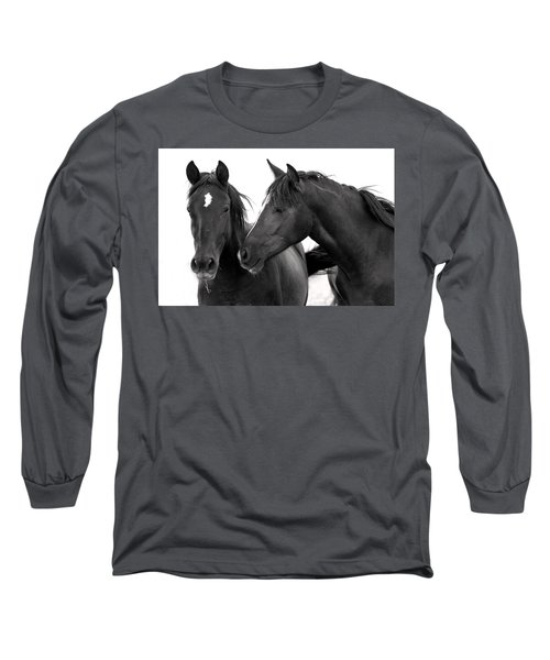 Best Buds Wild Mustang Long Sleeve T-Shirt
