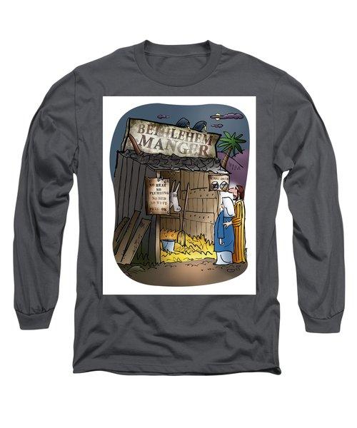 Bethlehem Manger Long Sleeve T-Shirt