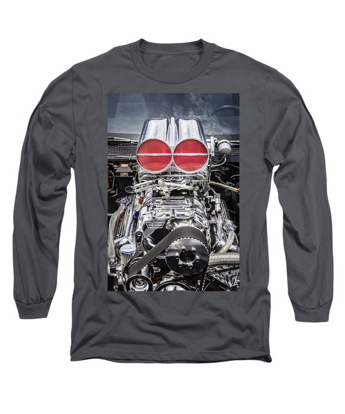 Big Big Block V8 Motor Long Sleeve T-Shirt