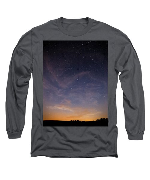 Big Dipper Long Sleeve T-Shirt by Davorin Mance