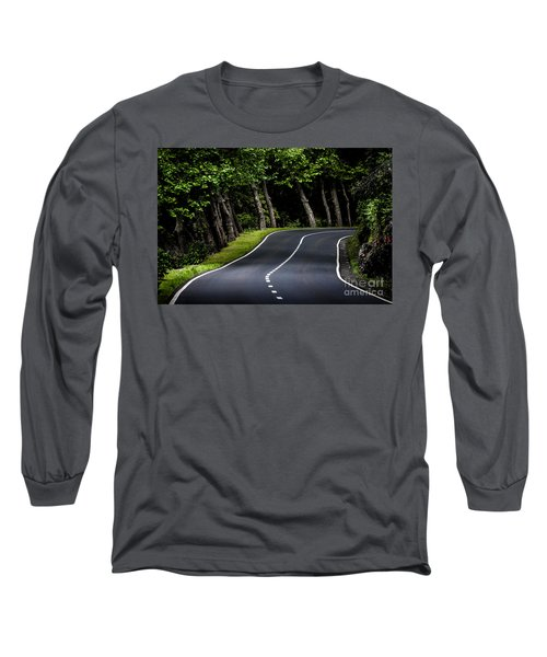 Big  Road Long Sleeve T-Shirt