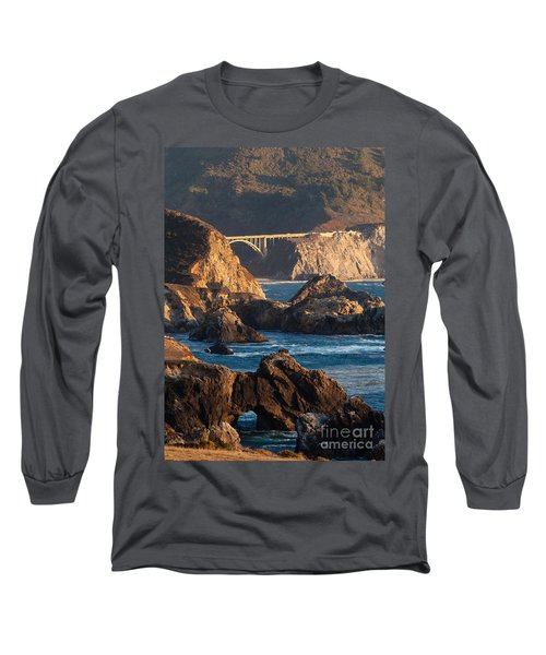 Big Sur Coastal Serenity Long Sleeve T-Shirt