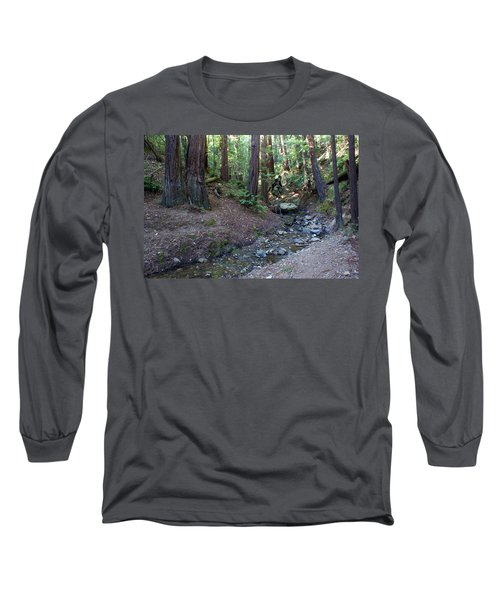 Bigfoot On Mt. Tamalpais Long Sleeve T-Shirt