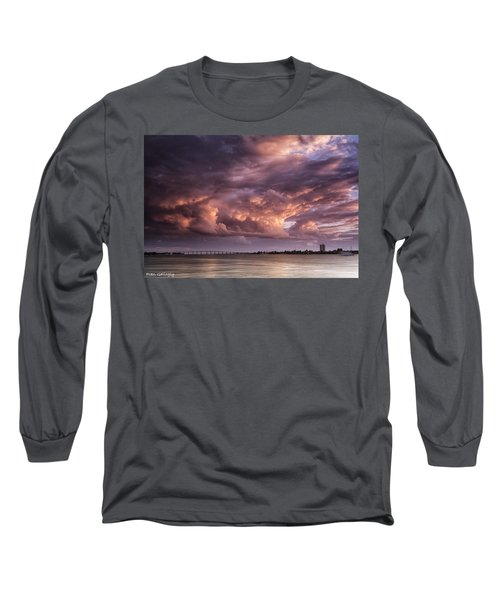 Billowing Clouds Long Sleeve T-Shirt