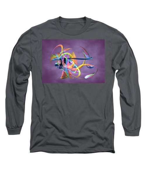 Bird-of-paradise - Abstract Long Sleeve T-Shirt